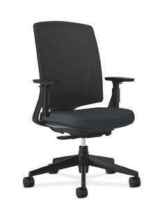HON Lota Mid-Back Work Chair with Mesh Back for Office or Computer Desk - http://www.furniturendecor.com/hon-lota-mid-back-work-chair-with-mesh-back-for-office-or-computer-desk-black/
