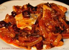 Polish Recipes, Fish Dishes, Ratatouille, Chili, Seafood, Pork, Food And Drink, Appetizers, Yummy Food