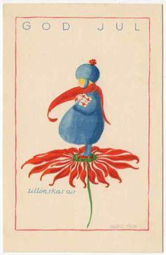 Vintage postcards by Ingeborg Möller