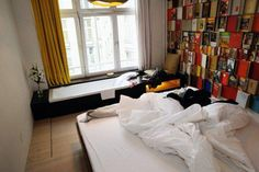 Michelberger Hotel in Berlin, cool and cheap hotel