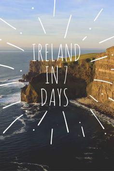 An Ireland travel it