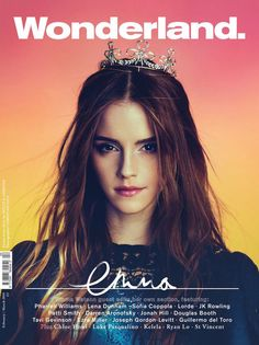 Wonderland Magazine February/March 2014 | Emma Watson photographed by Kerri Hallihan and Christian Oita.