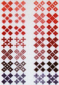 cross stitch  crafty wrap