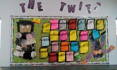 The twits wanted display board