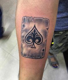Best Ace Tattoos and 5 Free Ace Tattoo Designs - Tattoo Insider Irezumi Tattoos, Skull Tattoos, New Tattoos, Hand Tattoos, Tattoos For Guys, Card Tattoo Designs, Angel Tattoo Designs, Tattoo Design Drawings, Tattoo Ideas