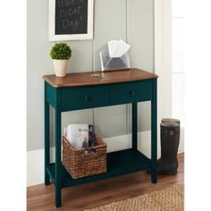 Spring Street Hinsdale Console Table Furniture Shelf Drawers Organize Storage #SpringStreetHinsdale #Modern