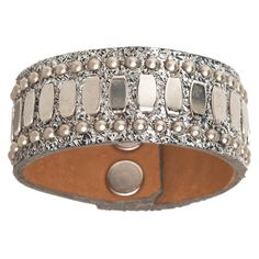 Calleen Cordero Concha Leather Cuff Bracelet – Favery