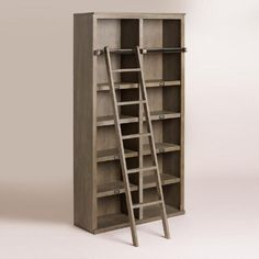 *similar* Library Shelving One of my favorite discoveries at WorldMarket.com: Gray Augustus Library Shelving