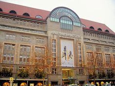 KaDeWe (Kaufhaus des Westens) - Second largest department store in Europe, trumped only by Harrods of London.