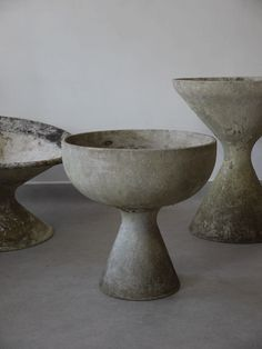 Cement planter by Willy Guhl for Eternit SA