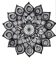 Mandala tattoo..