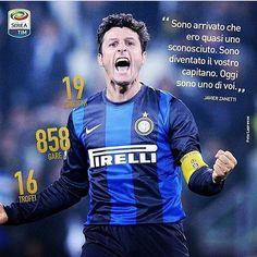 Il y a 21 ans débutait une légende #jz4 #inter #javierzanetti #zanetti #amala #legend #fcim #capitano