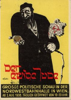 Nazi Propaganda against the Jews.  Visit the exhibit on your own or as a field trip with a NE State standards based lesson plan and learn more about propaganda.