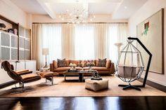 Apartamento ecléctico en la Quinta Avenida / HUXHUX Design