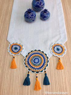 Free Mandala Crochet Patterns, Crochet Doily Rug, Crochet Mandala Pattern, Crochet Diy, Crochet Motifs, Crochet Borders, Crochet Tablecloth, Crochet Home, Crochet Designs