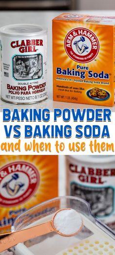 #BakingPowderForCleaning What Is Baking Soda, Baking Soda Beauty Uses, Baking Soda And Honey, Baking Soda Water, Baking Soda Vinegar, Baking Soda Uses, Cider Vinegar, Baking Soda For Cooking, Kids Baking