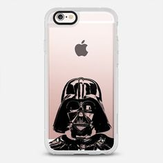 54f7d986c866 Star Wars Darth Vader 5 Semi-Transparent Iphone Hard Case