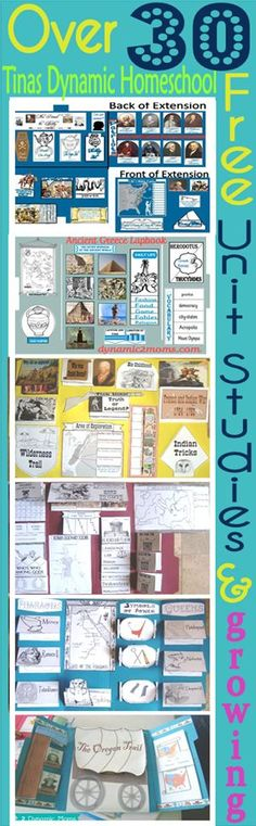Over 30 Free Unit Studies and growing Tinas Dynamic Homeschool Plus thumb South America Unit Study– Colorful Free Printable Map
