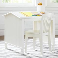 Create a study space that's as inspiring as it is practical.  The back to school furniture sale ends today! #linkinprofile