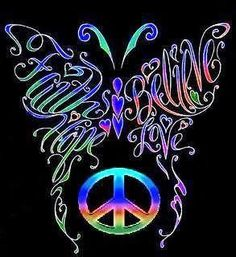 ☮ American Hippie ☮ Art .. Peace Sign