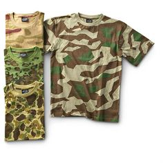 Salute to Vintage Camo T - shirts!    http://www.sportsmansguide.com/net/cb/vintage-camo-t-shirt.aspx?a=644908