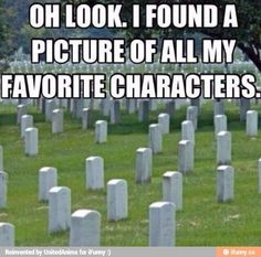 13 Things You'll Relate to If Your Favorite Book Character Died