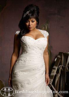 Wedding plus size color dress gown