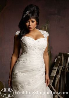Wedding plus size color dress gown