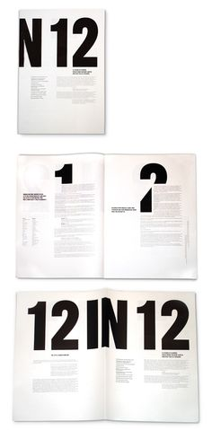 /// 12 In 12 is a booklet created by Craig Oldham based on a lecture he gave on 12 things that he had learned in his first 12 months as a designer at The Chase.