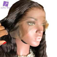 Cheap Human Hair Lace Wigs, Buy Directly from China Suppliers:Pre plucked Wavy Lace Front Wig Human Hair Bleached Knots Peruvian Remy Hair Lace Wig Natural Color Luffy Short Hair Wigs, Human Hair Lace Wigs, Black Hairstyles With Weave, Weave Hairstyles, Wholesale Human Hair, Blonde With Dark Roots, Black Wig, Bleach Blonde, Lace Hair