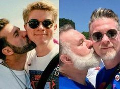 Nick Cardello and Kurt English, then and now.