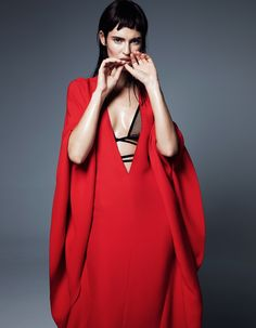 Bianca Balti in Cutting Edge Style for Fashion Issue #2 by Gianluca Fontana