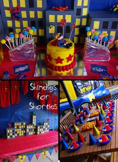 Super hero superhero party theme