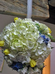 What A Fun Idea For A Flower Girl  Design By Beth Parker www.earlesflowers.com  Earle's Loveland Floral and Gifts   1421 N. Denver Ave Loveland, CO 80538  970.667.7550