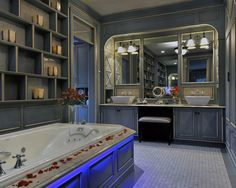 40 Romantic Bathrooms - Style Estate I want to bathe in them all!