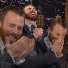 A whole pack of Chris Evans laughing Chris Evans, Reaction Pictures, Funny Pictures, Mtv, Dankest Memes, Funny Memes, Response Memes, Reaction Face, Current Mood Meme