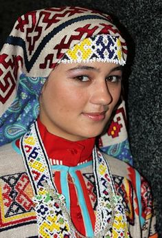 (Mansi people) Mansi people from the Siberia of Russia.