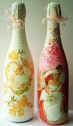 special bottles of champagne or wine for special occasions