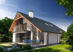 Projekty domów LK Projekt LK&1018 zdjęcie 2