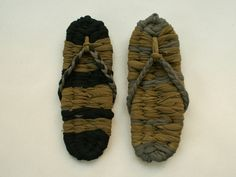 how to make  Knotted Zori.  http://www.ehow.com/how_8783546_weave-zori-sandals.html    http://www.etsy.com/blog/en/2011/how-to-japanese-zori-sandals/