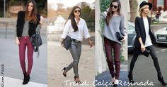dicas de roupas calça legging marrom - Pesquisa Google