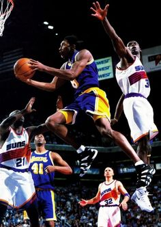 Kobe Bryant Los Angeles Lakers Elden Campbell Phoenix Suns Jason Kidd George McCloud Antonio McDyess