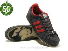 Boutique Femmes Adidas Superstar 35e Anniversaire Noir Rouge (Adidas Superstar White)