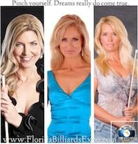 TODAY through January 2016 the Annual Florida Billiards Expo will offer pool fans around the world the Legends of Pool Experience! An escape from the winter cold and a chance to spend 3 days of pool lessons, golf, Billiards Pool, Rack, Prom Dresses, Formal Dresses, Florida, World, Celebrities, Legends, Exotic