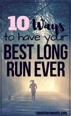 Here are a few secrets that helped me have my best long run EVER. These long distance running tips will help marathon training go smoothly whether you're a beginner runner or advanced athlete. Running Routine, Running Plan, How To Start Running, Running Workouts, How To Run Faster, How To Run Longer, Running Hacks, Running Form, 5k Training For Beginners
