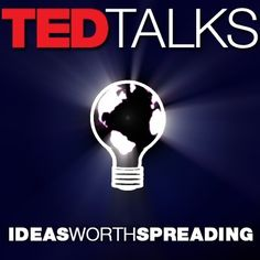 Image of TED talks logo.