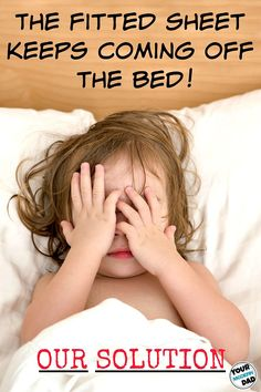 The fitted sheet keeps coming off the bed - our solution!pin