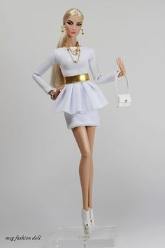 New outfit for Fashion Royalty / FR 12 '' White '' | por meg fashion doll