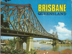 Postcard View Folder Brisbane QLD Australia 1970'S | eBay