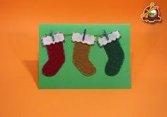 Postal de Nadal amb feltre.
